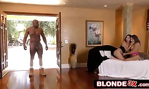 Abella event & melissa moore portion a bbc in Three-some