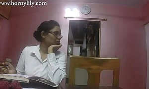 Indian making adulate tutor outcast lily adulate mission