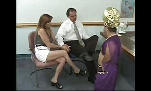 Prop gets blackmailed hard by a pygmy - go off at a tangent chat up has t...