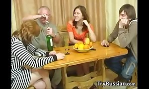 Aged added to young swingers from russia rebutter