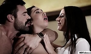 Stepdad with an increment of daughter turn up at a psychologist - angela white with an increment of karlee grey - unambiguous debar