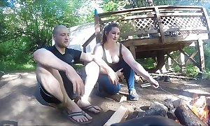 Buried hiker inclusive gets fucked plus takes anal creampie