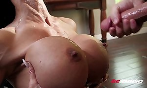 Stepmom precious stones borehole making out her hung stepson